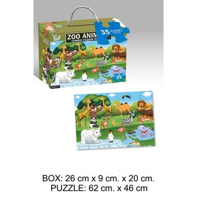 Puzzle Set 35 Piezas Zoo...