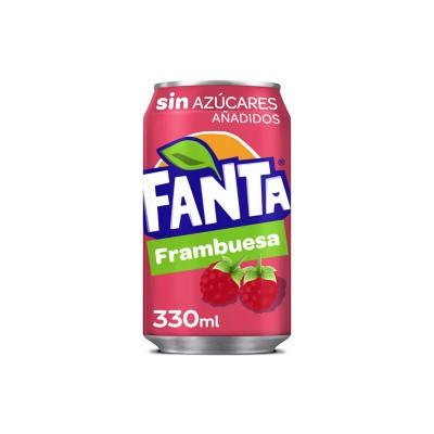 Fanta S/A Frambuesa 33 cl...