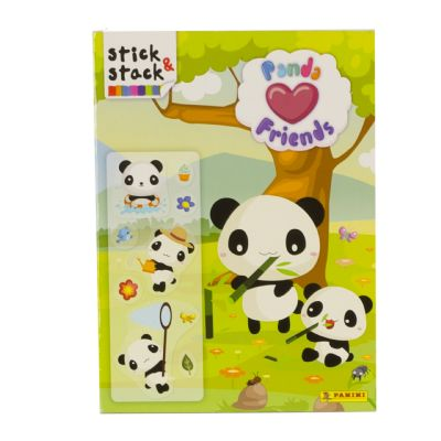 Stick&Stack Panda Friends -...