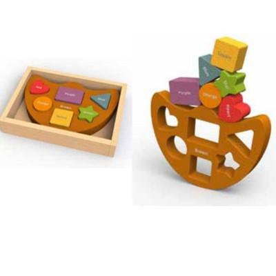 Equilibrio formas y colores...