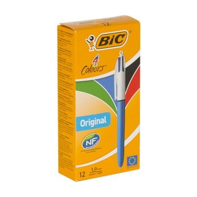 Bolígrafo Bic 4 colores
