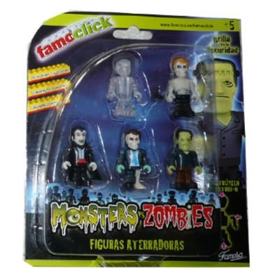 Click monster 5 muñecos de...