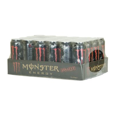 Monster energy assault.