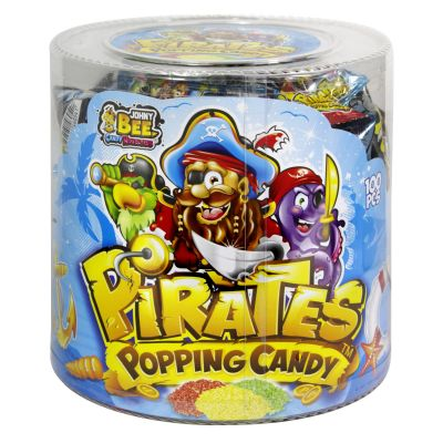 Popping Candy Pirates 100 Uds.