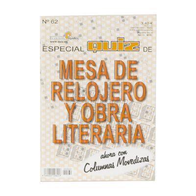Quiz Especial Mesa Relojero...