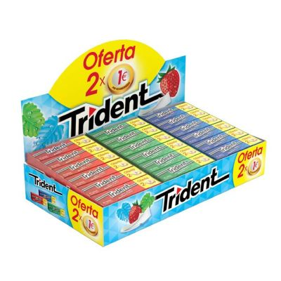 Lote Trident hinchable 2x1 ¤.