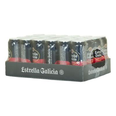 Cerveza Estrela Galicia.