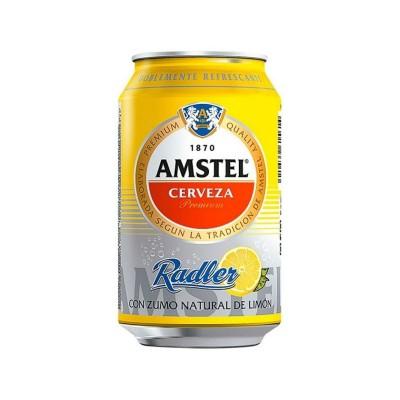Cerveza Amstel Radler Limón...