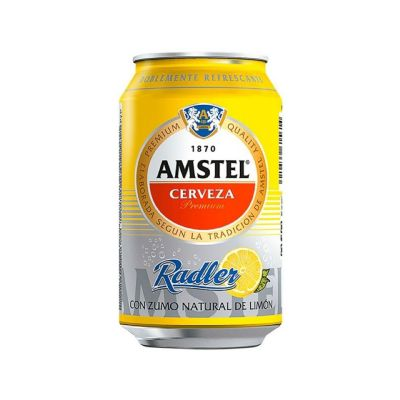 Cerveza buckler radler.