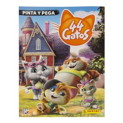 44 Gatos Pinta y Pega - No 25