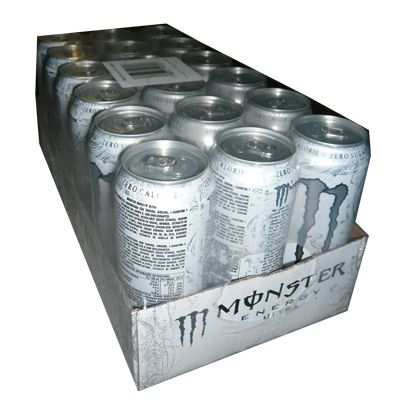 Monster energy ultra white.