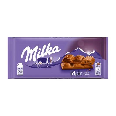Chocolate Milka triple...
