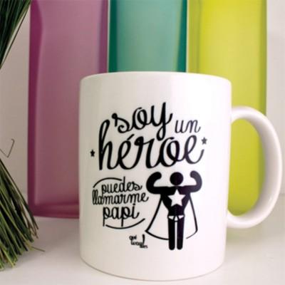 Taza soy un heroe puedes...