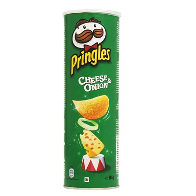 Pringles cheese & onion 165...