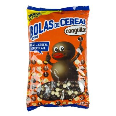 Mini bolas de cereal.