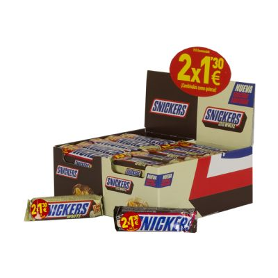 Lote Snickers White 2x1,30¤...