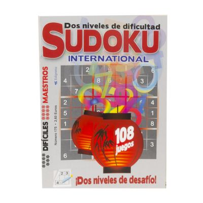 Sudoku internacional - No 182