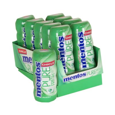 Chicle mentos gum spearmint.