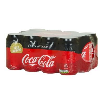 Coca cola zero lata.