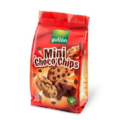 Mini choco chips.