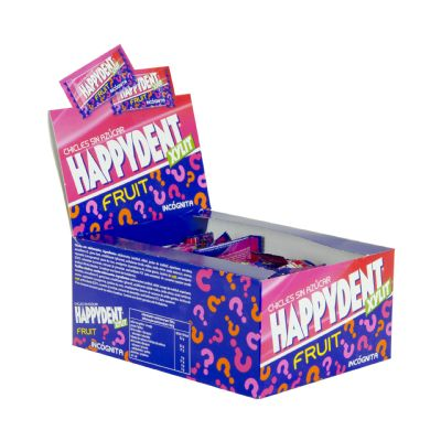 Chicle Happydent incognita.
