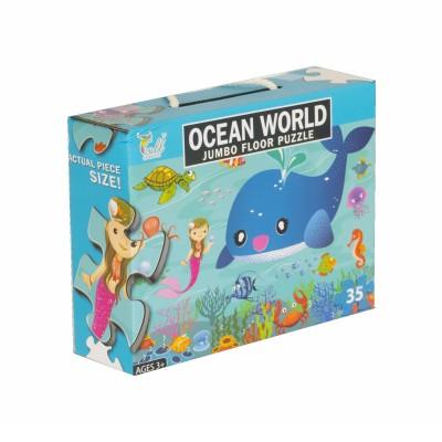 Puzzle 35 piezas Ocean Fish