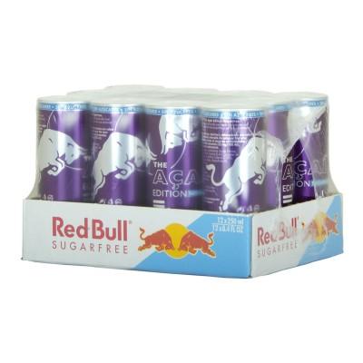 Red Bull Acai sin azúcar.