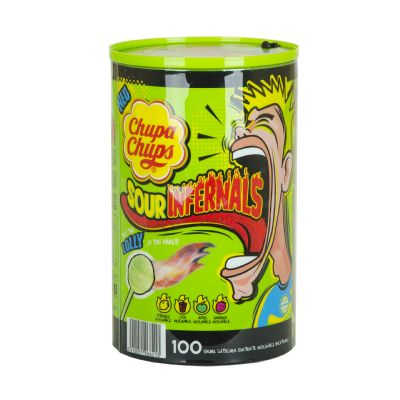 Chupa Chups sour infernals.