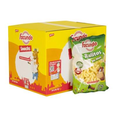 Caja de Snacks Rulitos de...