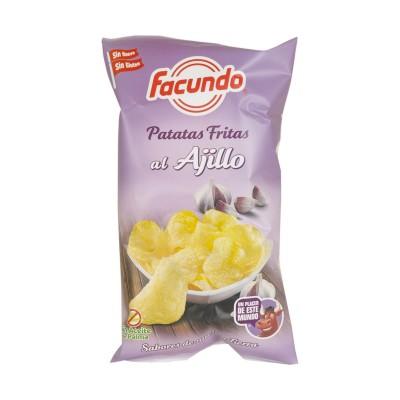 Caja con Bolsas de Patatas...