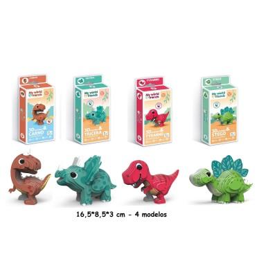Puzzles 3D Dinosaurios 4...