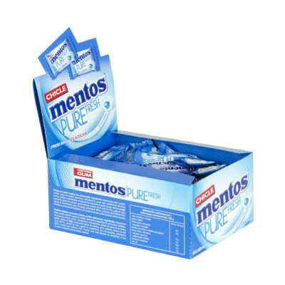 Mentos gum fresh mint.