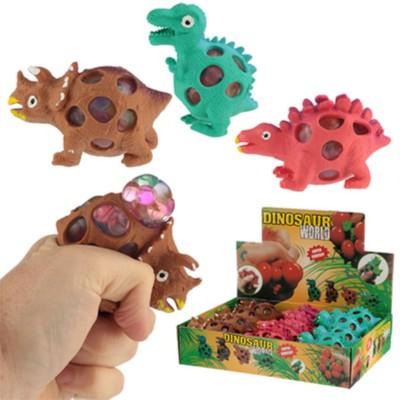 Dinosaurios estrujables.