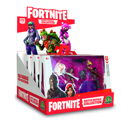 Fortnite blister 2 figuras.
