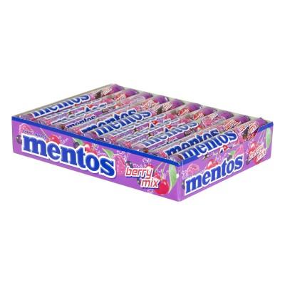 Caramelas mentos berry mix...