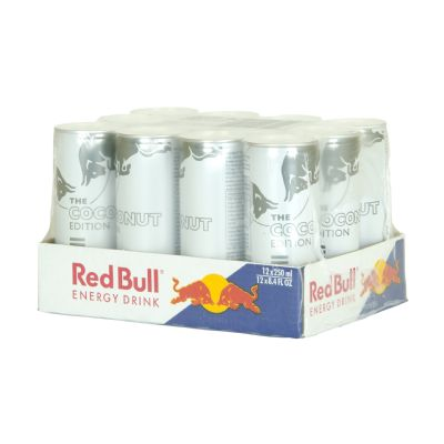 Red Bull coconut editions.