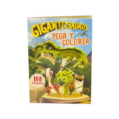 Gigantosaurus Pega y...