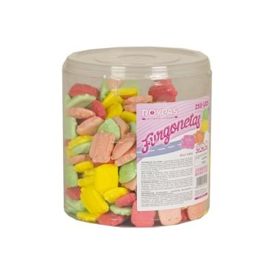 caramelos de goma con forma...