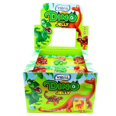 Dino Jelly Expositor 66 uds