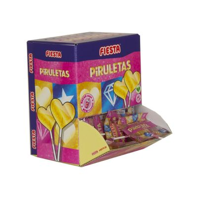 Piruleta Corazón Gold 13...