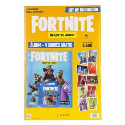 Fortnite Álbum + 4 sobres...