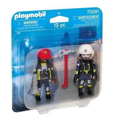 Duopack bomberos Playmobil