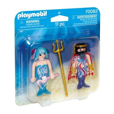 Duopack Rey y Sirena Playmobil
