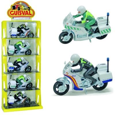 Expositor de motos policia...