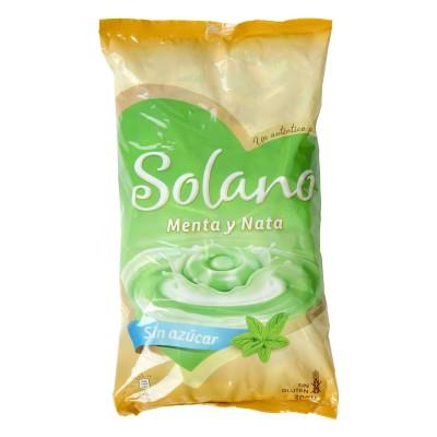 Caramelo Solano menta y nata.