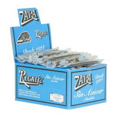 Regaliz Zara sin azucar.