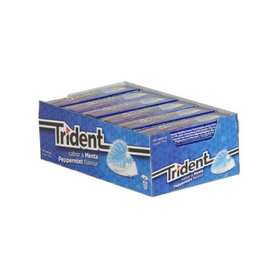 Chicle Trident menta...