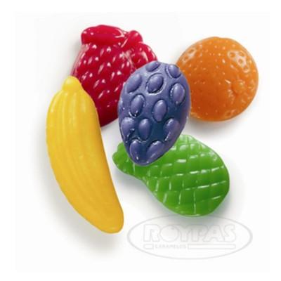 Gominolas frutas grandes.