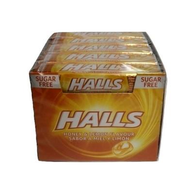Caramelo Halls miel y limon.