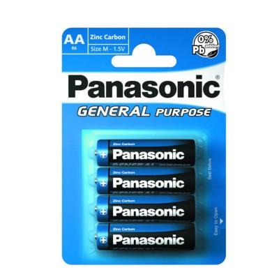 Pila azul R6BE de Panasonic.